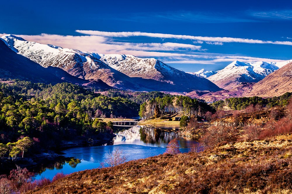 Glen Affric - A favourite location to visit from Inverness