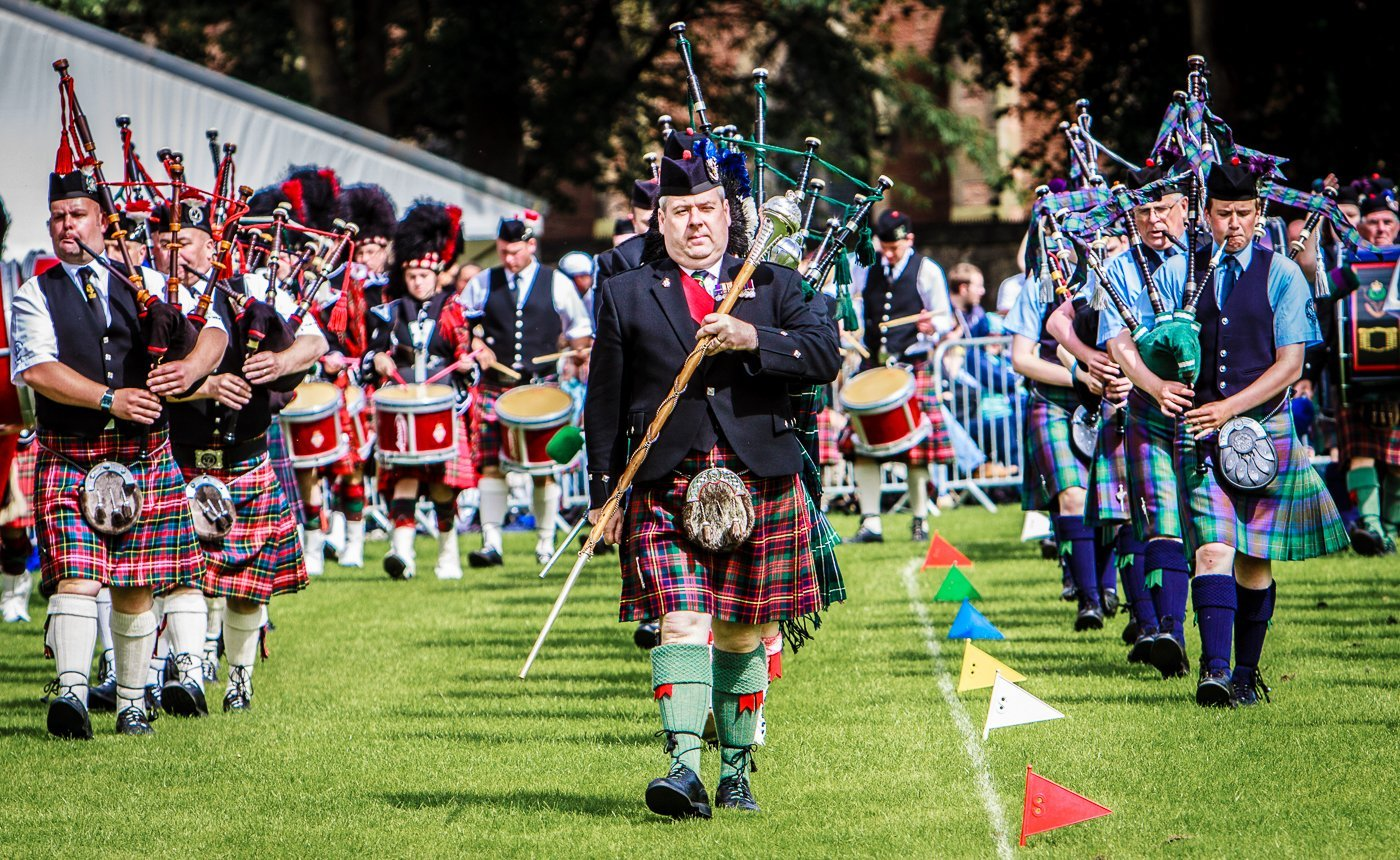 Highland Games Pipers