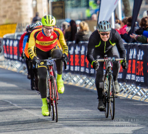Intense rivalry in the Etape Loch Ness