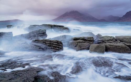 View from Elgol on Isle of Skye