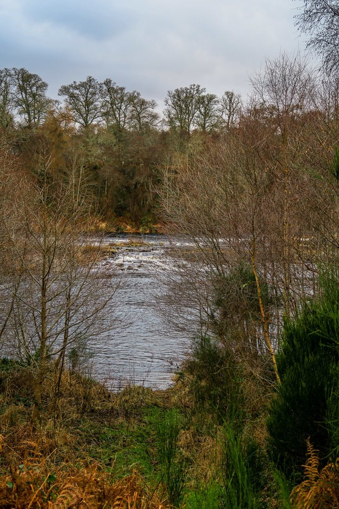 Weir on River Beauly