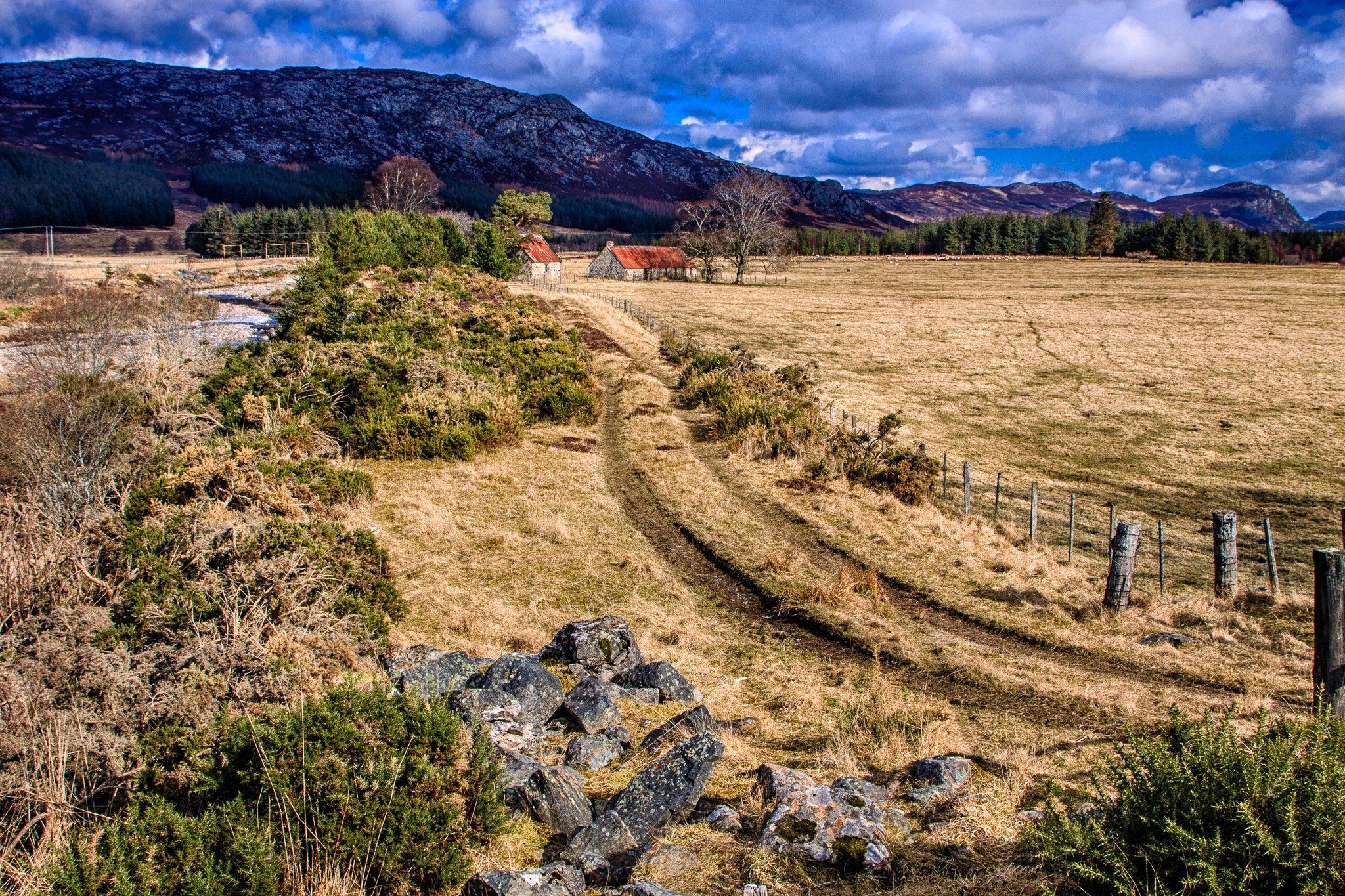 Red Barns at East Croachy