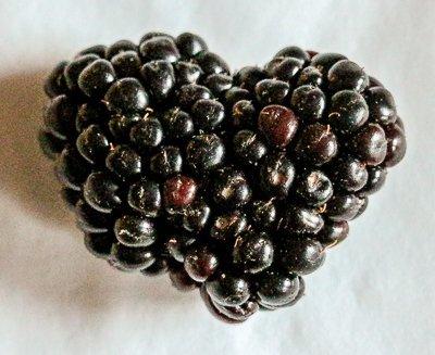 Heart Shaped Blackberry