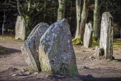 The Split Stone at Clava Cairns