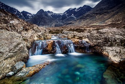 Crystal Blue Water at the Fairy Pools