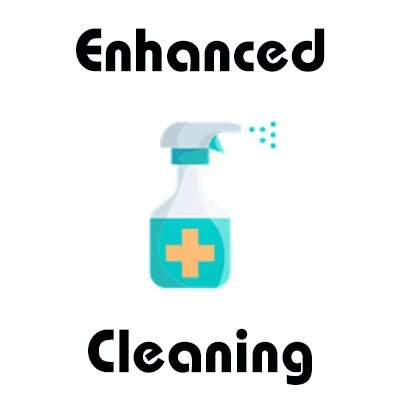 Covid-19 safe enhanced cleaning procedures