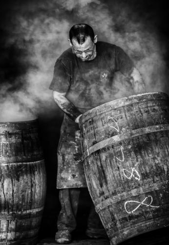 Steaming the casks