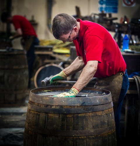 Repairing the cask