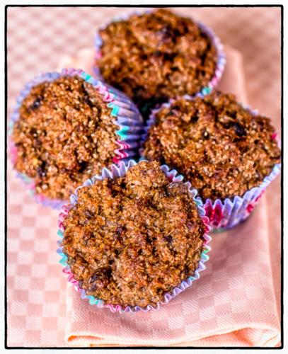 Orange, Raisin & Bran Muffins