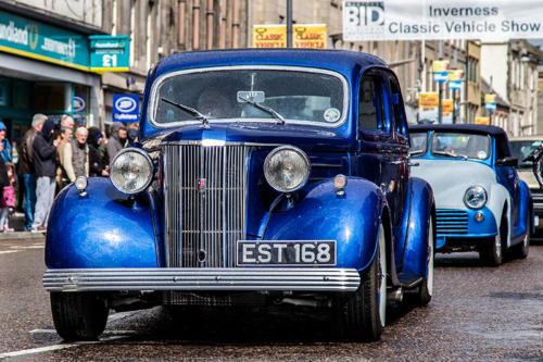Electric-Blue-Classic-Car
