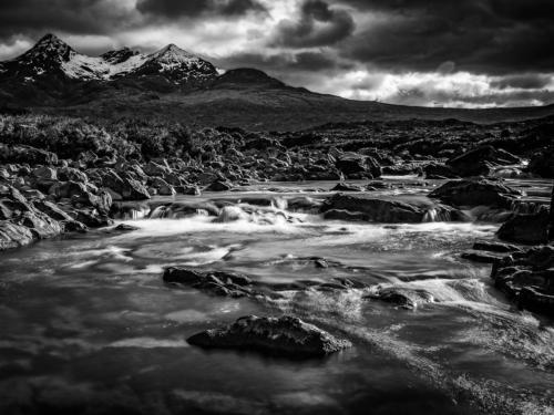 Sligachan River towards Sgurr nan Gillean