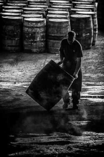 Moving the cask