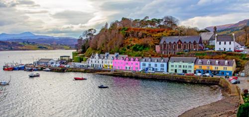 Portree Harbour Isle of Skye